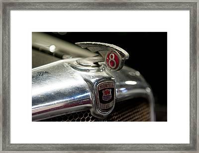 Car Mascot Iv Framed Print by Helen Northcott