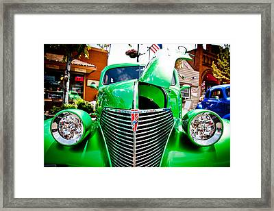 Car No.14 Framed Print
