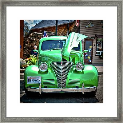 Car No.2 - Rare-39 Framed Print