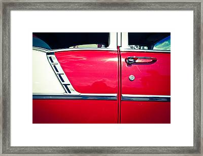 Car No.6 - Perfect Proportions Framed Print