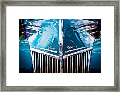 Car No.8 Framed Print