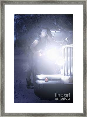 Car Problems Framed Print by Jorgo Photography - Wall Art Gallery