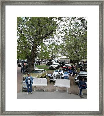 Framed Print featuring the photograph Car Show In Deming N M by Jack Pumphrey