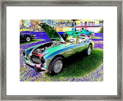 Car Show Framed Print by Peter  McIntosh