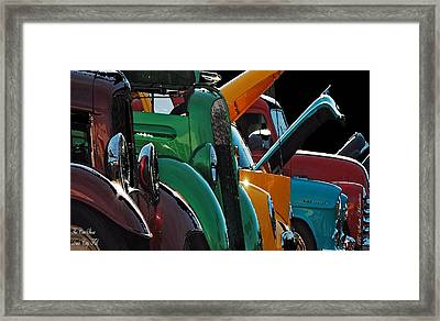 Car Show V Framed Print