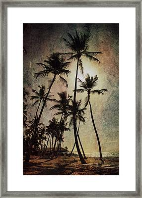Caraibi Mood Framed Print