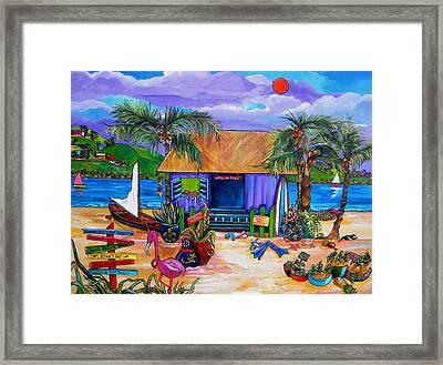 Cara's Island Time Framed Print