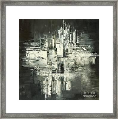 Carbon Concerto Framed Print