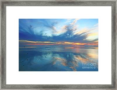 San Elijo Sky Framed Print