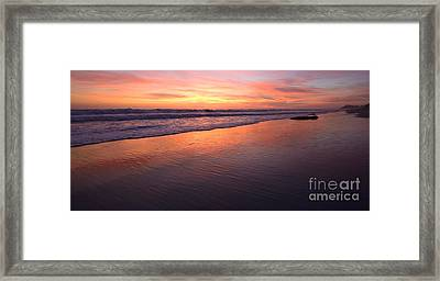 Cardiff To Encinitas  Framed Print