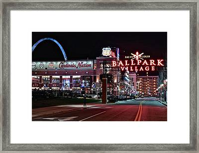 Cardinal Nation Framed Print by Frozen in Time Fine Art Photography