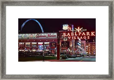 Cardinal Pride Framed Print by Frozen in Time Fine Art Photography