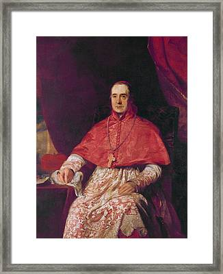 Cardinal Thomas Weld Framed Print