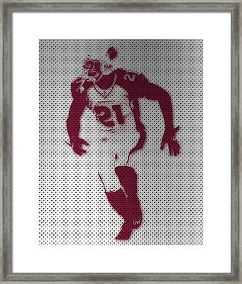 Cardinals Patrick Peterson Framed Print