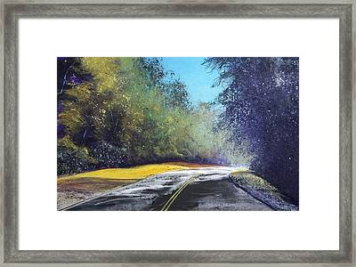 Carefree Highway Framed Print