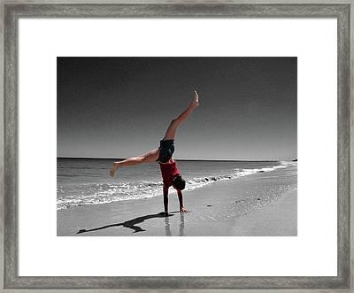 Carefree Framed Print by Kelly Jones