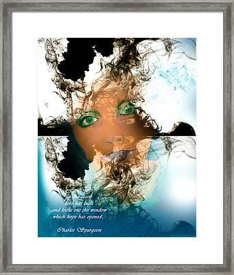 Caregiver Framed Print by Patricia Motley