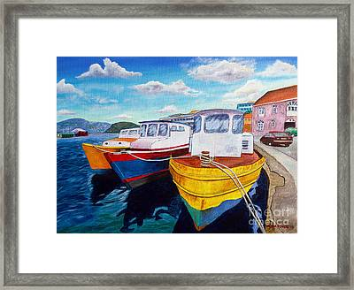 Carenage Scene 1 Framed Print