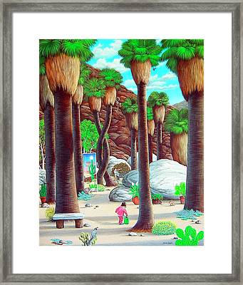 Caretaker Framed Print by Snake Jagger