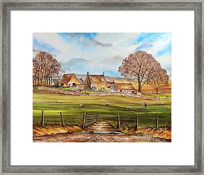 Carey's Farm Framed Print