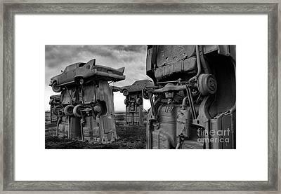 Carhenge Nebraska 18 Framed Print by Bob Christopher