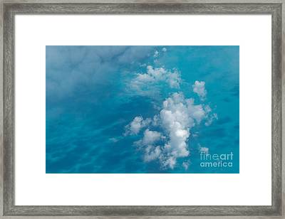 Caribbean Abstraction Framed Print