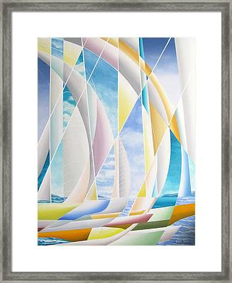 Framed Print featuring the painting Caribbean Afternoon by Douglas Pike