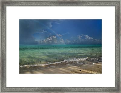 Caribbean Breeze Framed Print by Betsy Knapp