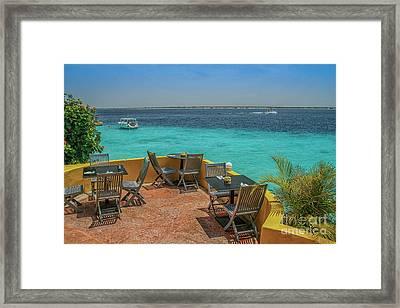Caribbean Cafe Framed Print