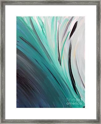 Caribbean Calm Framed Print by Jilian Cramb - AMothersFineArt