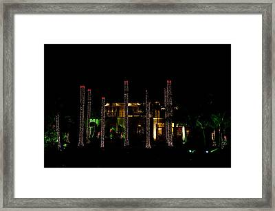 Caribbean Christmas Framed Print by Tom Dowd