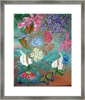 Caribbean Delight Framed Print by Mikki Alhart