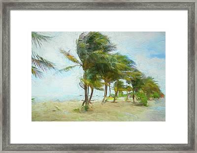 Caribbean Getaway Framed Print