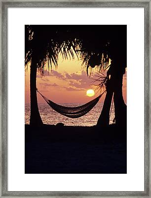 Caribbean Interlude Framed Print