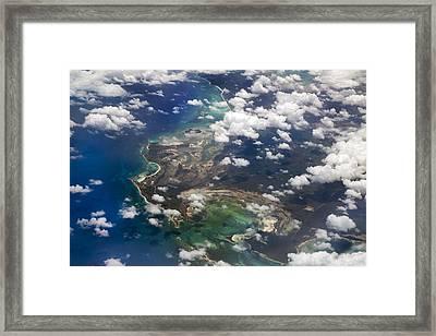 Caribbean Limitless Sky Framed Print by Betsy Knapp