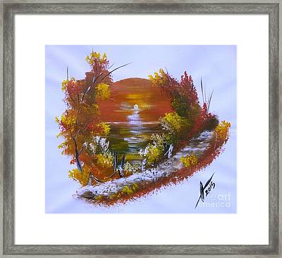 Caribbean Magic Framed Print