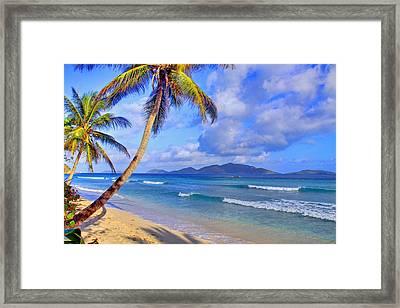 Caribbean Paradise Framed Print by Scott Mahon