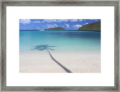 Caribbean Shadow Framed Print