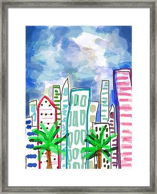 Tropical Storm  Framed Print by Paul Sutcliffe