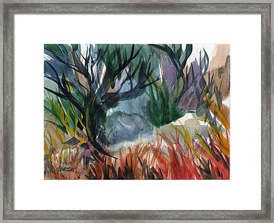 Caribbean Stroll Framed Print