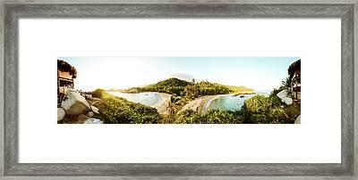 Caribbean Sunrise Framed Print