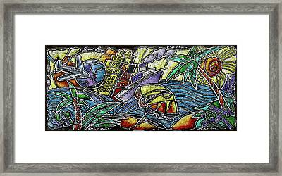 Caribbean Travel Framed Print