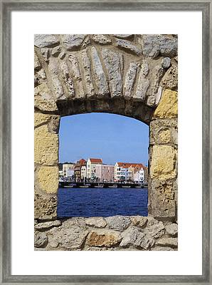 Caribbean View Framed Print by Bill Bachmann - Printscapes
