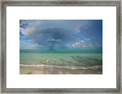 Caribbean Waterspout  Framed Print