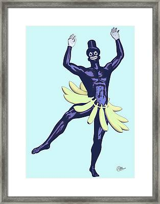 Caribean Showman Framed Print by Quim Abella