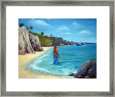Caribean Dreaming Framed Print