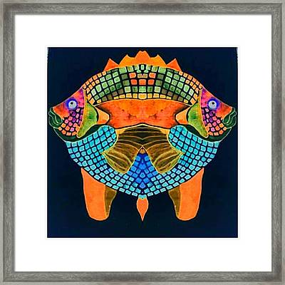 Caribean Fish Framed Print