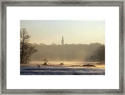 Carillon Mist Framed Print by Kelvin Booker