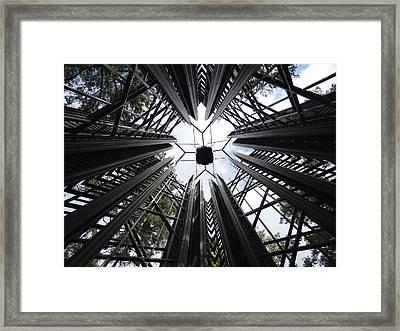 Carillon Tower Framed Print