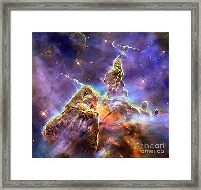 Carinabula Framed Print by Jon Neidert